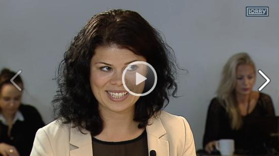 Fremtidsforsker Louise Fredbo-Nielsen i TV2 Lorry